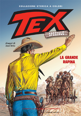 copertina di José Ortiz © Sergio Bonelli Editore