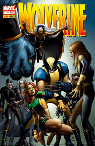 copertina di John Romita Jr    Wolverine 25 © Marvel Comics