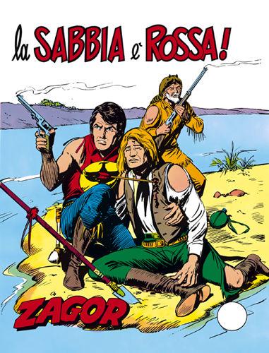 Zagor 115 la sabbia rossa edicola fumetti italiani for Setacciavano la sabbia dei fiumi