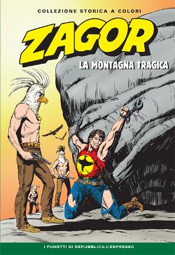 copertina di Gallieno Ferri di Zagor Collezione storica a colori numero 28