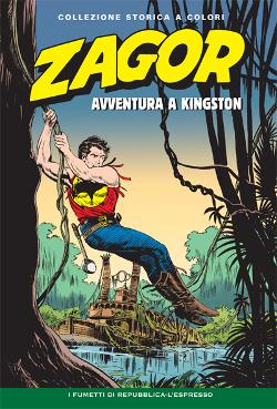 copertina di Gallieno Ferri di Zagor Collezione storica a colori numero 29