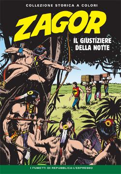 copertina di Gallieno Ferri di Zagor Collezione storica a colori numero 30