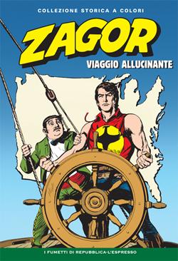 Zagor collezione storica Viaggio Allucinante