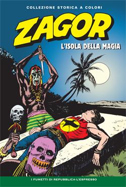 Zagor collezione storica L'isola della magia
