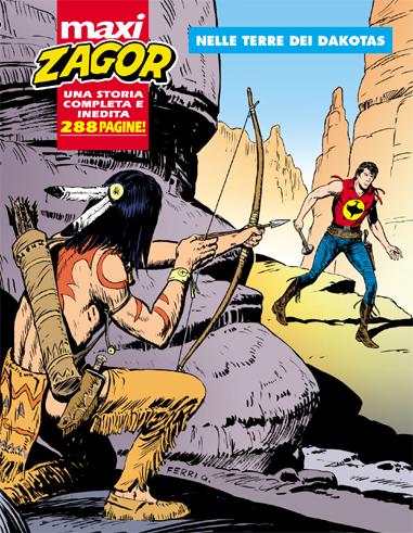 copertina Maxi Zagor 16