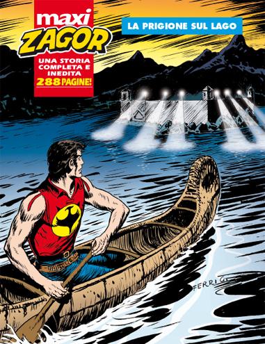 copertina Maxi Zagor 18