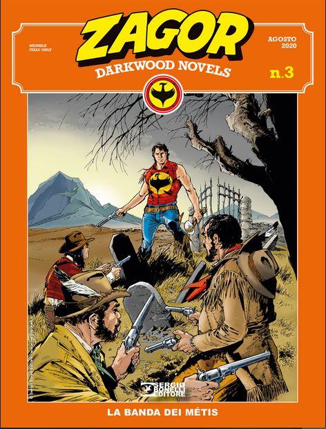 copertina Zagor Darkwood Novels 3 di Michele Rubini
