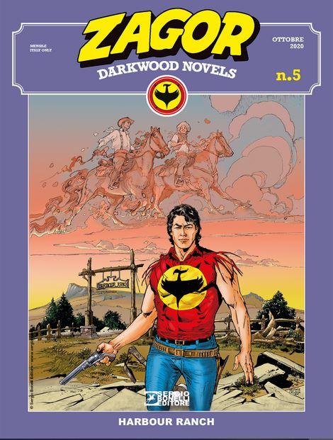 copertina Zagor Darkwood Novels 5 di Michele Rubini