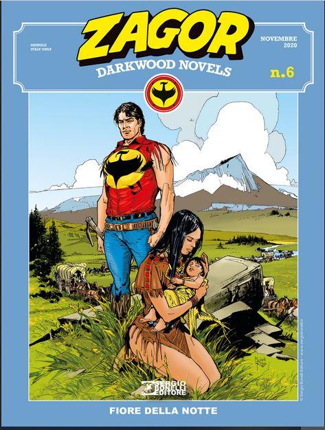 copertina Zagor Darkwood Novels 6 di Michele Rubini