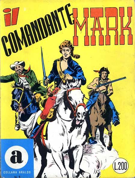 il Comandante Mark collana Araldo copertina numero 1