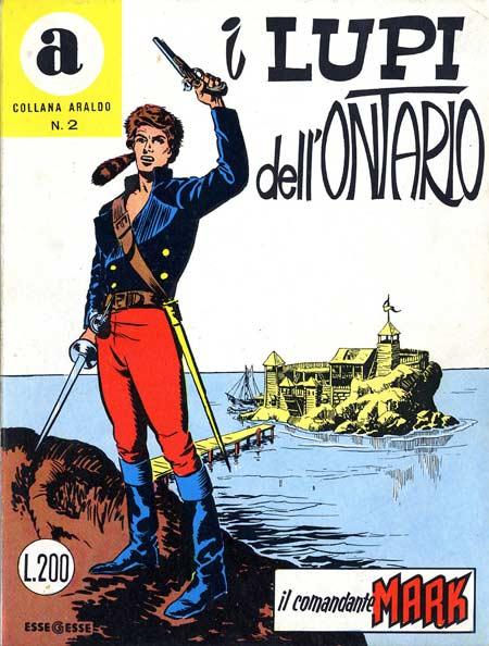 il Comandante Mark collana Araldo copertina numero 2