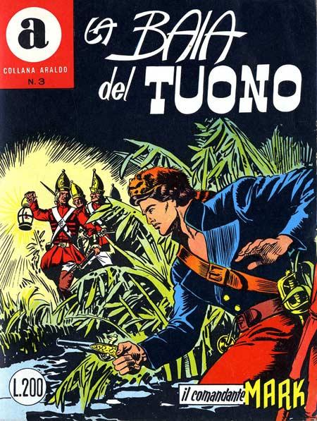 il Comandante Mark collana Araldo copertina numero 3