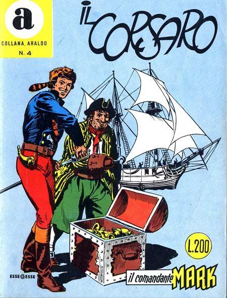 il Comandante Mark collana Araldo copertina numero 4