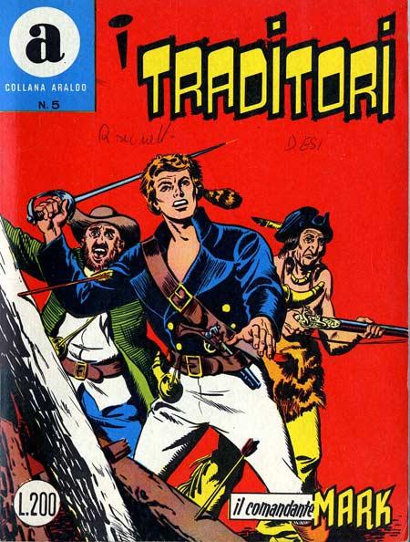 il Comandante Mark collana Araldo copertina numero 5