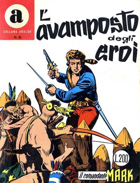 il Comandante Mark collana Araldo copertina numero 6