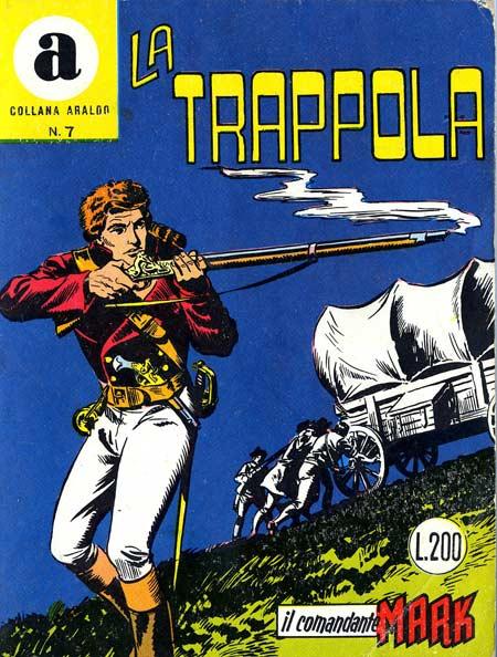 il Comandante Mark collana Araldo copertina numero 7