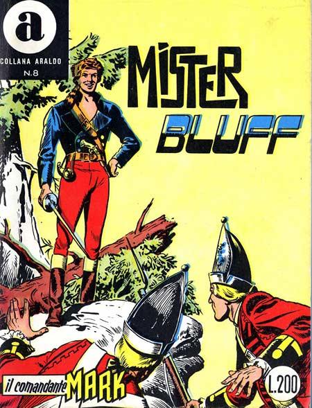 il Comandante Mark collana Araldo copertina numero 8
