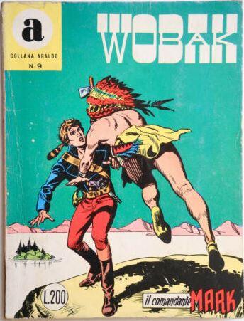 il Comandante Mark collana Araldo copertina numero 9