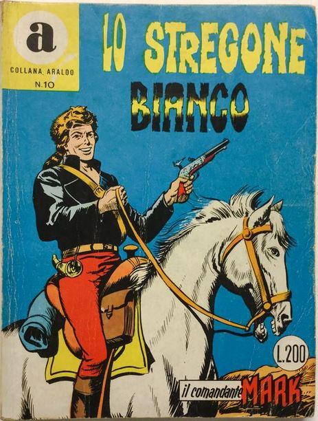 il Comandante Mark collana Araldo copertina numero 10