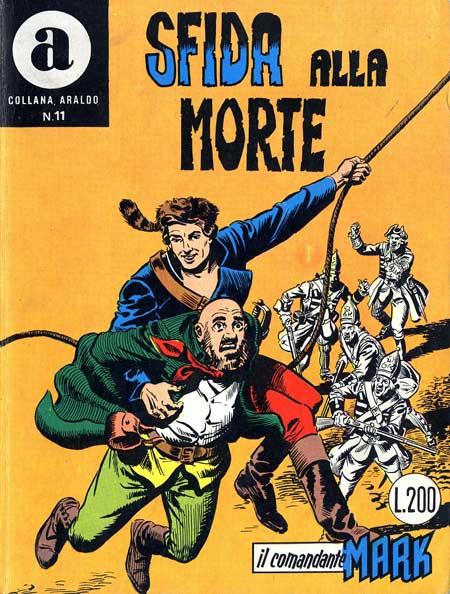 il Comandante Mark collana Araldo copertina numero 11