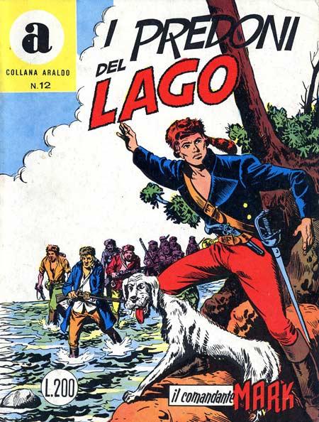 il Comandante Mark collana Araldo copertina numero 12
