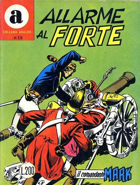 il Comandante Mark collana Araldo copertina numero 13