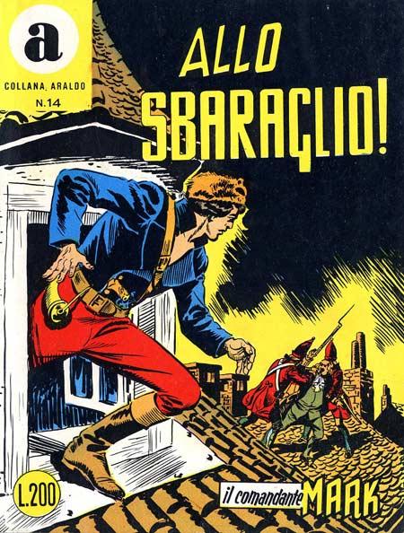 il Comandante Mark collana Araldo copertina numero 14