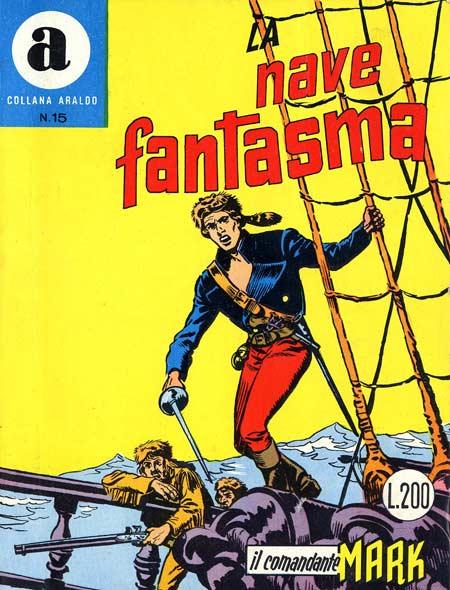 il Comandante Mark collana Araldo copertina numero 15