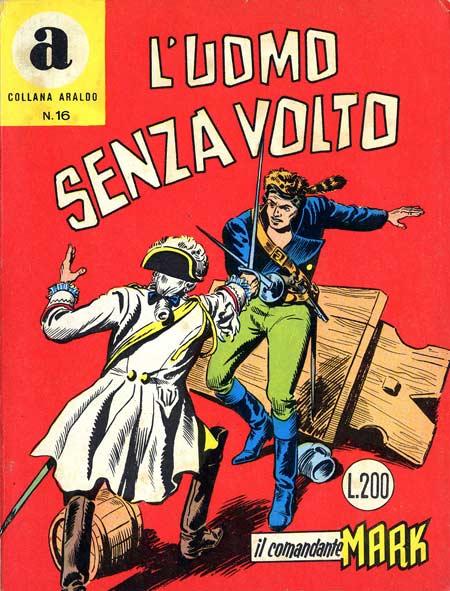 il Comandante Mark collana Araldo copertina numero 16