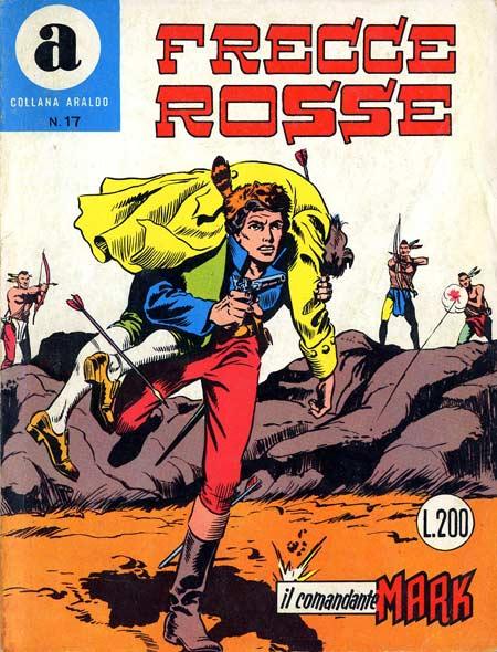 il Comandante Mark collana Araldo copertina numero 17