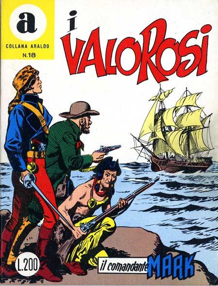 il Comandante Mark collana Araldo copertina numero 18