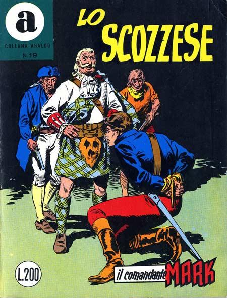 il Comandante Mark collana Araldo copertina numero 19