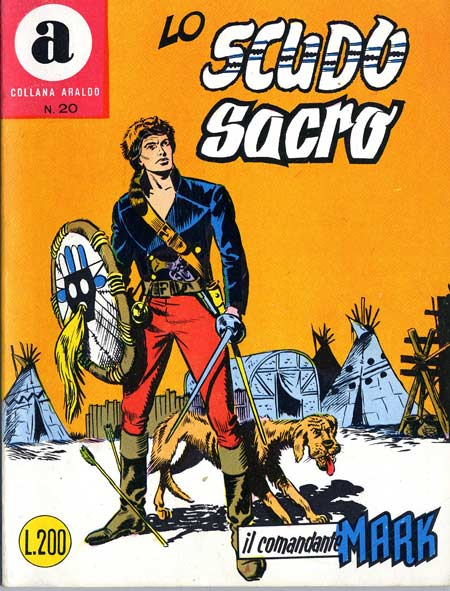 il Comandante Mark collana Araldo copertina numero 20