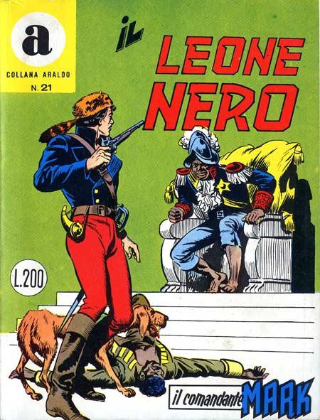 il Comandante Mark collana Araldo copertina numero 21