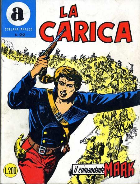 il Comandante Mark collana Araldo copertina numero 22