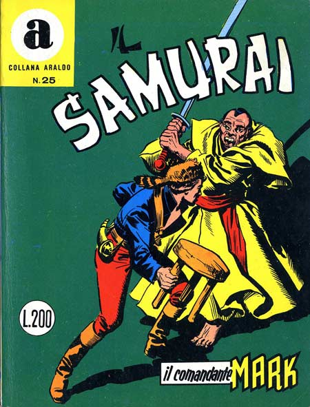 il Comandante Mark collana Araldo copertina numero 25