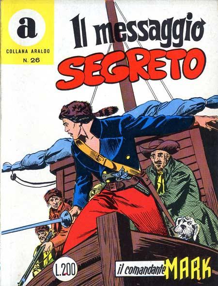 il Comandante Mark collana Araldo copertina numero 26
