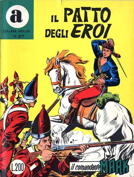 il Comandante Mark collana Araldo copertina numero 27