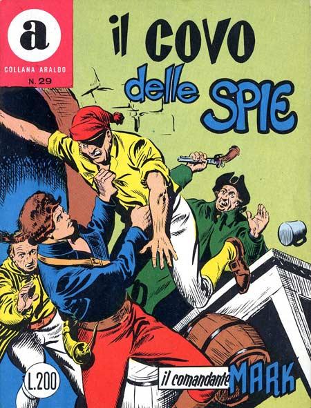 il Comandante Mark collana Araldo copertina numero 29