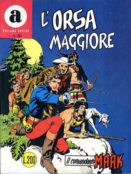 il Comandante Mark collana Araldo copertina numero 31