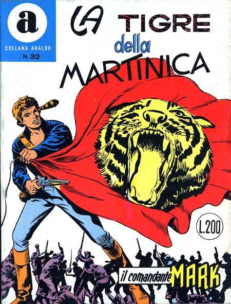 il Comandante Mark collana Araldo copertina numero 32