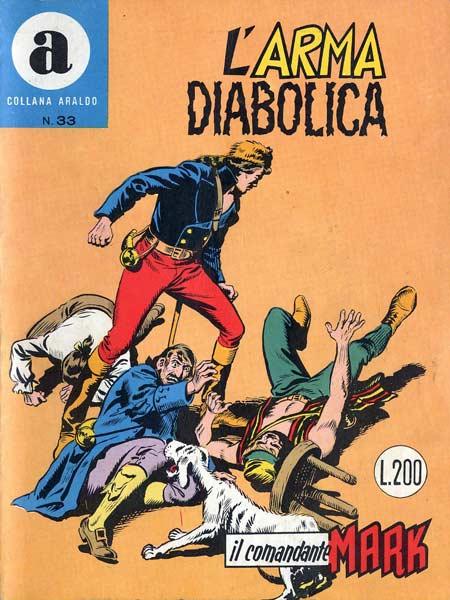 il Comandante Mark collana Araldo copertina numero 33