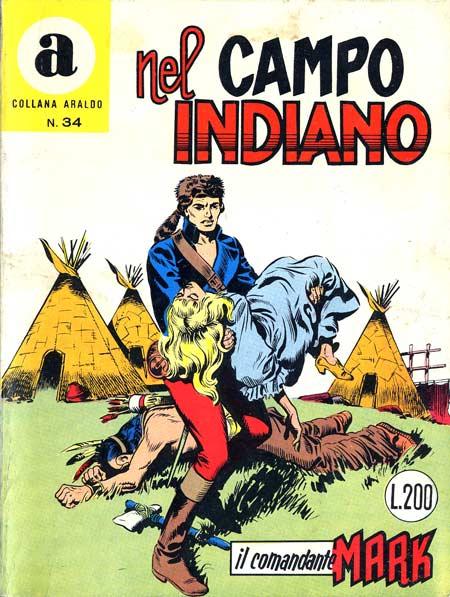 il Comandante Mark collana Araldo copertina numero 34