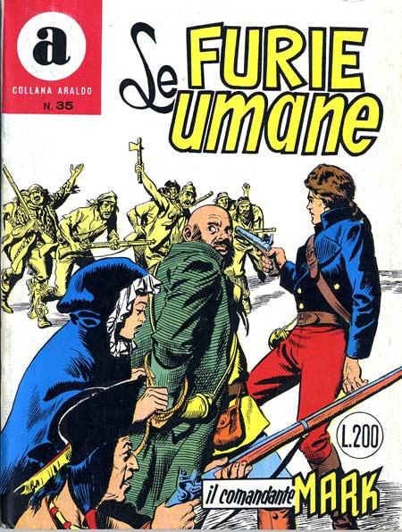 il Comandante Mark collana Araldo copertina numero 35