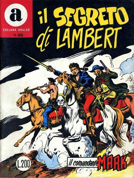 il Comandante Mark collana Araldo copertina numero 36
