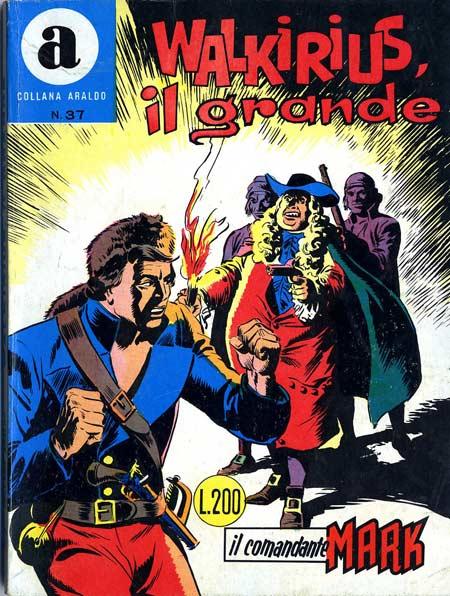 il Comandante Mark collana Araldo copertina numero 37