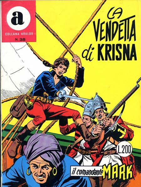 il Comandante Mark collana Araldo copertina numero 38