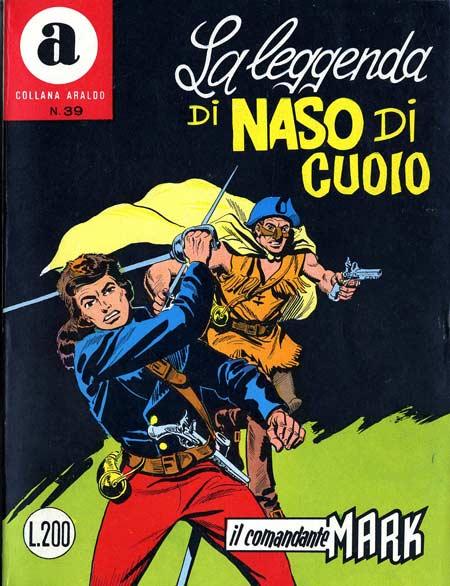 il Comandante Mark collana Araldo copertina numero 39