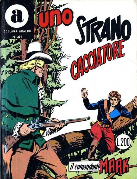 il Comandante Mark collana Araldo copertina numero 41