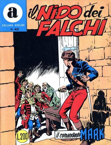 il Comandante Mark collana Araldo copertina numero 42